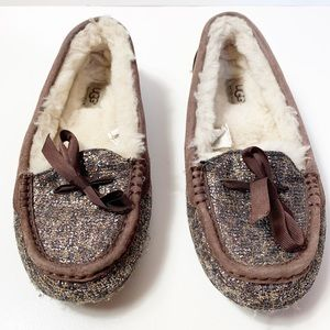 Ugg shearling loafers